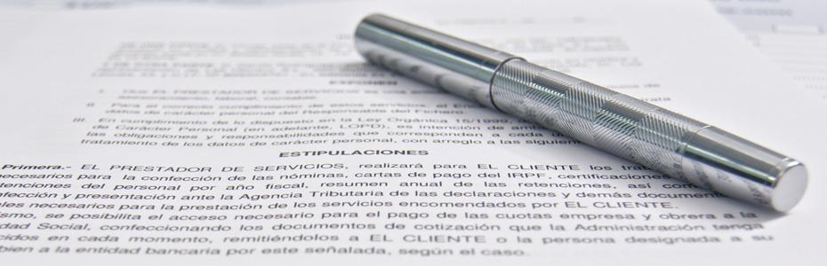 Redacción de documentos y contratos
